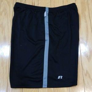 Russell Dri-Fit - Black & Gray Shorts